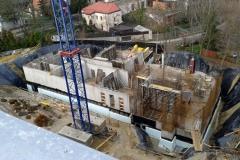 Budowa i dzwonnica