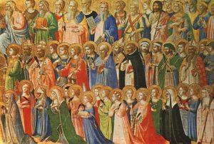 Uroczystość Wszystkich Świętych 1.11